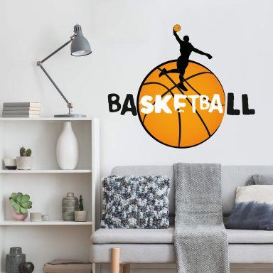 Wandtattoo Basketball Slogan