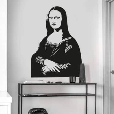 Wandtattoo Mona Lisa