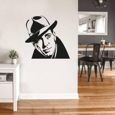 Muursticker Humphrey Bogart