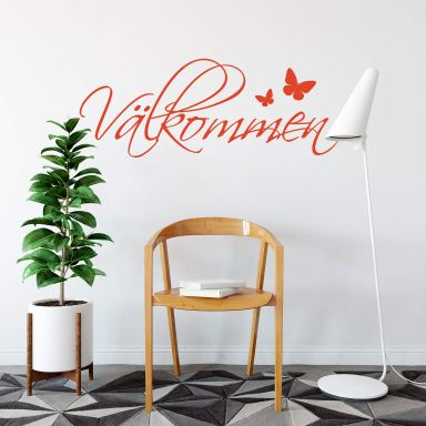 Välkommen Wall sticker