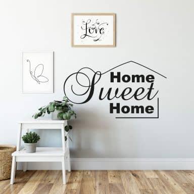 Home Sweet Home 8 Wall sticker