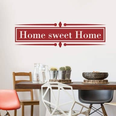 Home sweet Home 5 Wall sticker