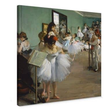 Leinwandbild Degas - Die Tanzklasse