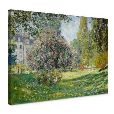 Canvas Print Monet - Park Monceau