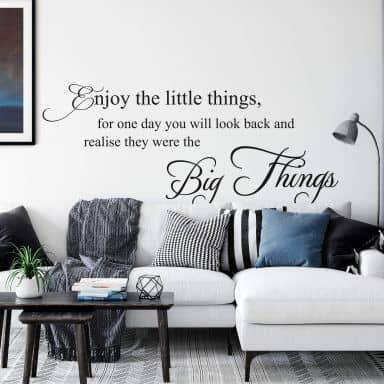 Wandtattoo Enjoy the little things... 1