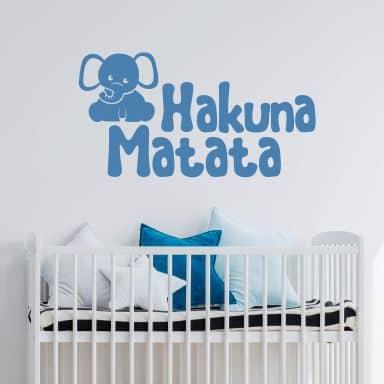 Muursticker Hakuna Matata 03