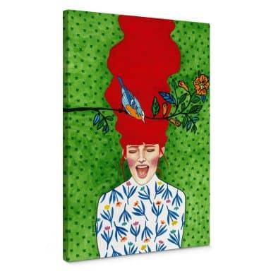 Canvas Print Hülya - Spring