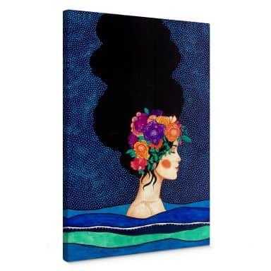 Canvas Print Hülya - Body and Mind