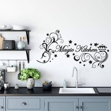 Sticker mural - Magic Kitchen