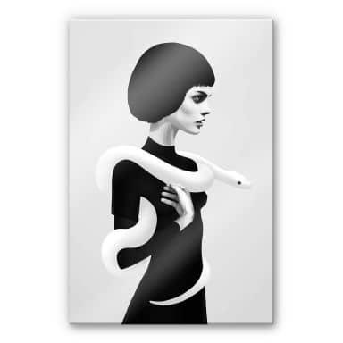 Acrylglasbild Ireland - Only Skin - Die Schlange