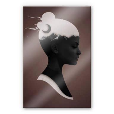 Acrylglasbild Ireland - She just