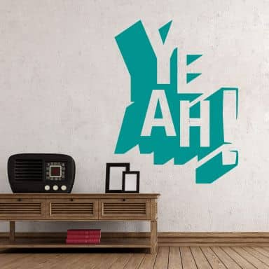 Yeah - Wall Sticker