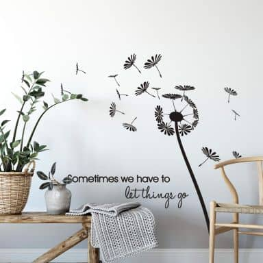 Sometimes we have... Wall sticker