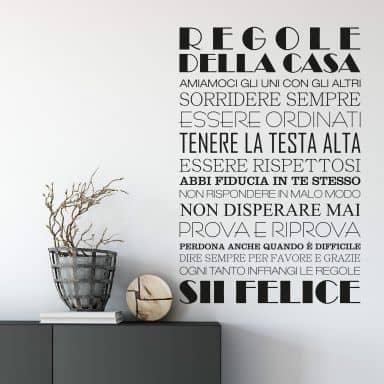 Regole della casa 1