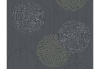 Papier peint intissé A.S. CréationSpot 2 gris, noir