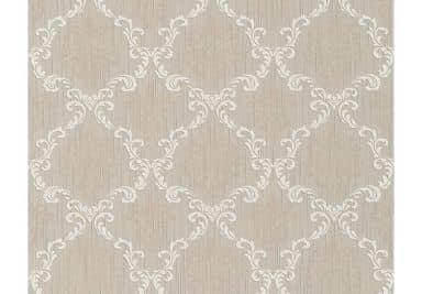 """Architects Paper - carta da parati in tessuto serie """"Tessuto"""" colore beige-grigio, bianco segnale"""