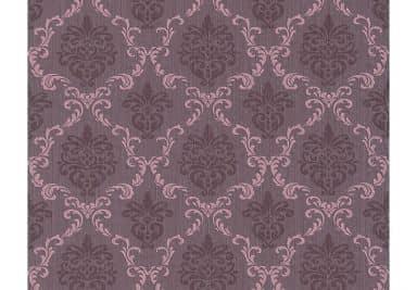 Architects Paper Textiltapete Tessuto Barocktapete mit Ornamenten lila