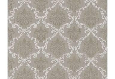 """Architects Paper - carta da parati in tessuto serie """"Tessuto"""" colorebeige-grigio, grigio-beige, bianco segnale"""