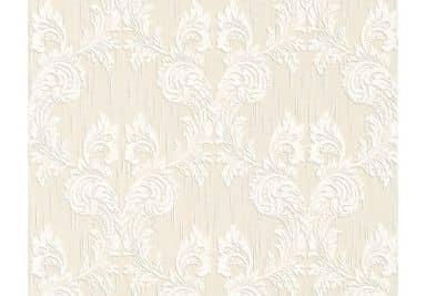 """Architects Paper - carta da parati in tessuto serie """"Tessuto"""" colorebianco segnale, bianco perla"""