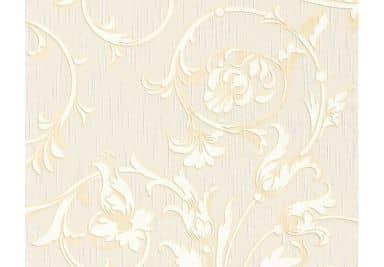 """Architects Paper - carta da parati in tessuto serie """"Tessuto"""" colorebianco segnale, giallo sabbia, bianco perla"""