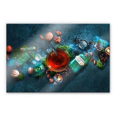 Acrylglasbild Belenko - Nuts and Tea