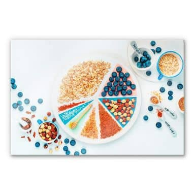 Acrylglasbild Belenko - Breakfast 01