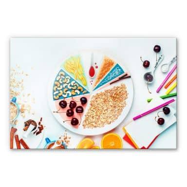 Acrylglasbild Belenko - Breakfast 02