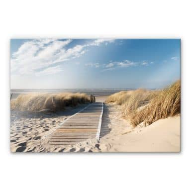 Acrylic glass – to the beach