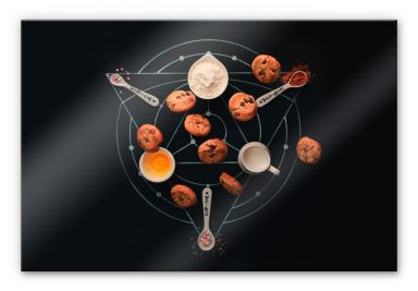 Acrylglasbild Belenko - Baking Alchemy 01