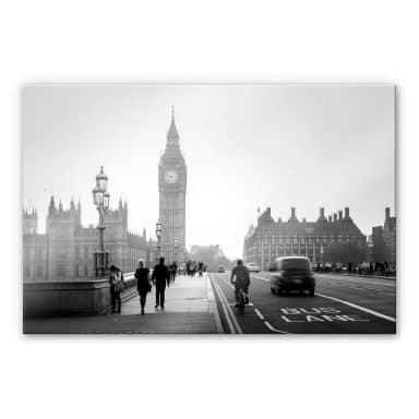 Acrylglasbild Big Ben in London