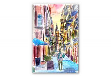 Acrylglasbild Bleichner - Fascinating Palermo