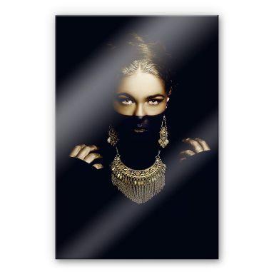 Acrylglasbild Bolgov - Gold