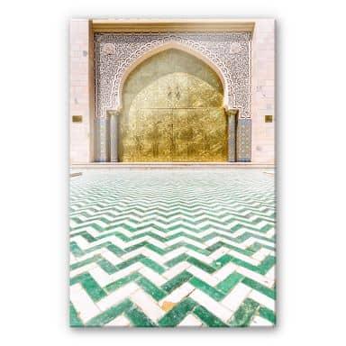 Acrylglasbild Colombo - Alawi Moschee im Oman