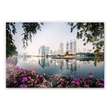 Acrylglasbild Colombo - Bangkok und seine Lichter