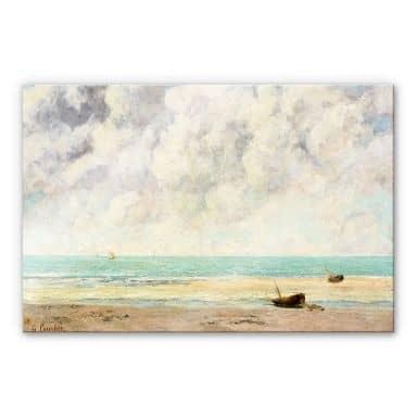 Acrylglasbild Courbet - Die ruhige See