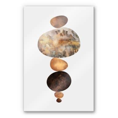 Acrylglasbild Fredriksson - Balance