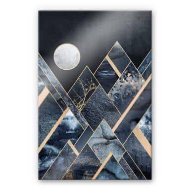 Acrylglasbild Fredriksson - Nachthimmel