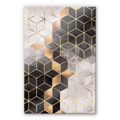 Plexiglas Fredriksson - Smoky Cubes