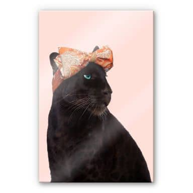 Acrylglasbild Fuentes - Fashion Panther