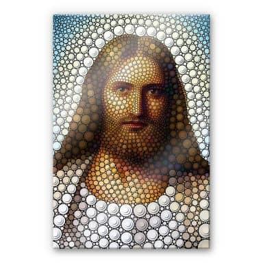 Plexiglas Ben Heine - Circlism: Jesus Christ