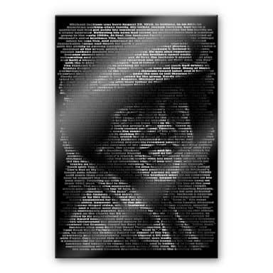 Acrylglas Heine - Michael Jackson's Biografie