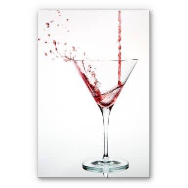 Acrylglasbild Pabst - Cocktail