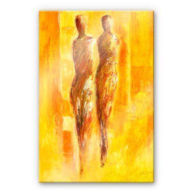 Acrylglasbild Schüßler - Die Begegnung