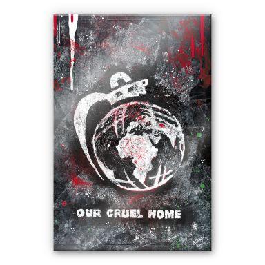 Acrylglasbild Buttafly - Our Cruel World