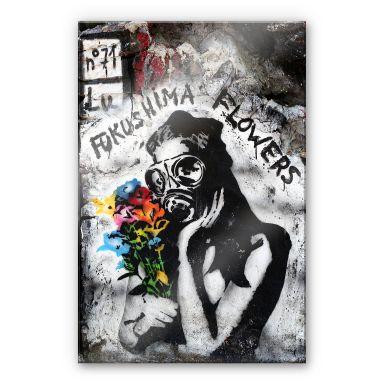 Acrylglasbild Fukushima Flowers