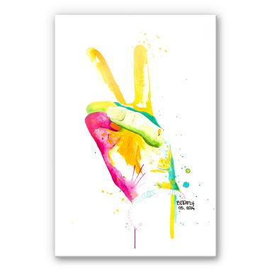 Acrylglasbild Buttafly - Peace 02