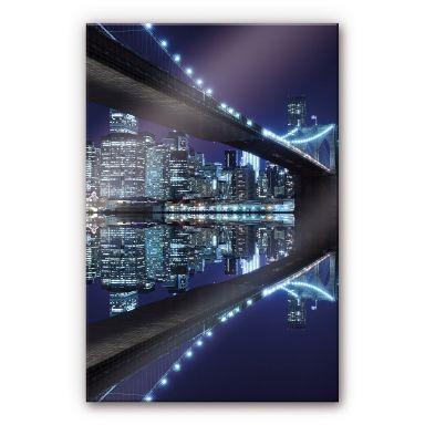 Acrylglasbild Brooklyn Bridge