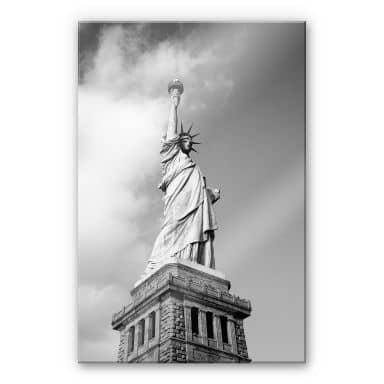Tableau en verre acrylique - Lady Liberty