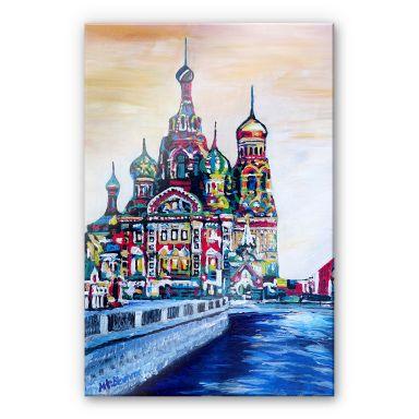 Acrylglasbild Bleichner - St. Petersburg