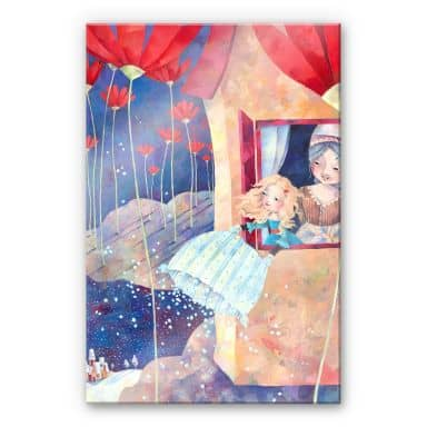 Acrylglasbild Blanz - Frau Holle